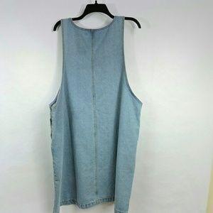 9be1942034 Glamorous Curve Dresses - Glamorous Curve Denim Plus Size Jumper Dress